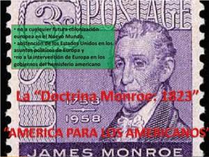 Nefasta Doctrina Monroe: América para los Americanos