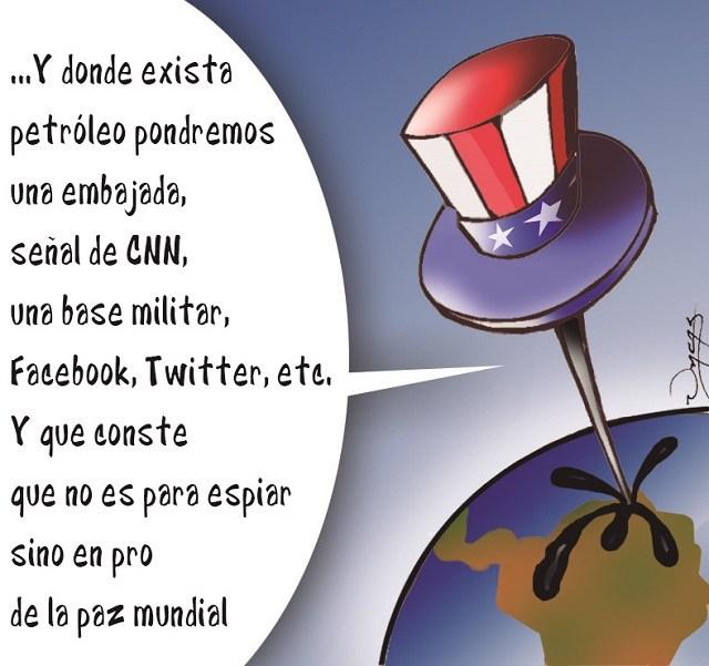 Táctica usada por Estados Unidos contra Venezuela