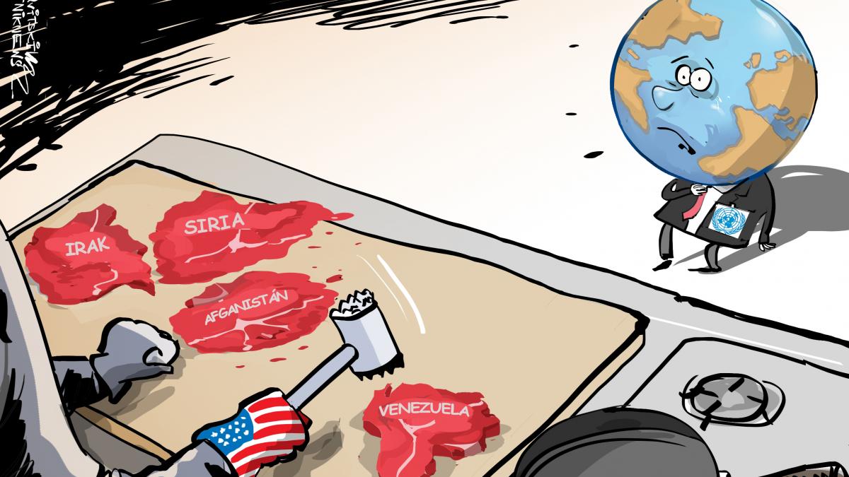 Venezuela es el siguiente objetivo militar de USA