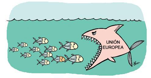 SUCRE_Ecuador_Union_Europea_Caricatura