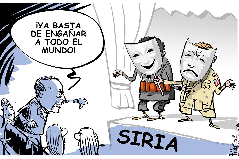 Basta del engaño en Siria