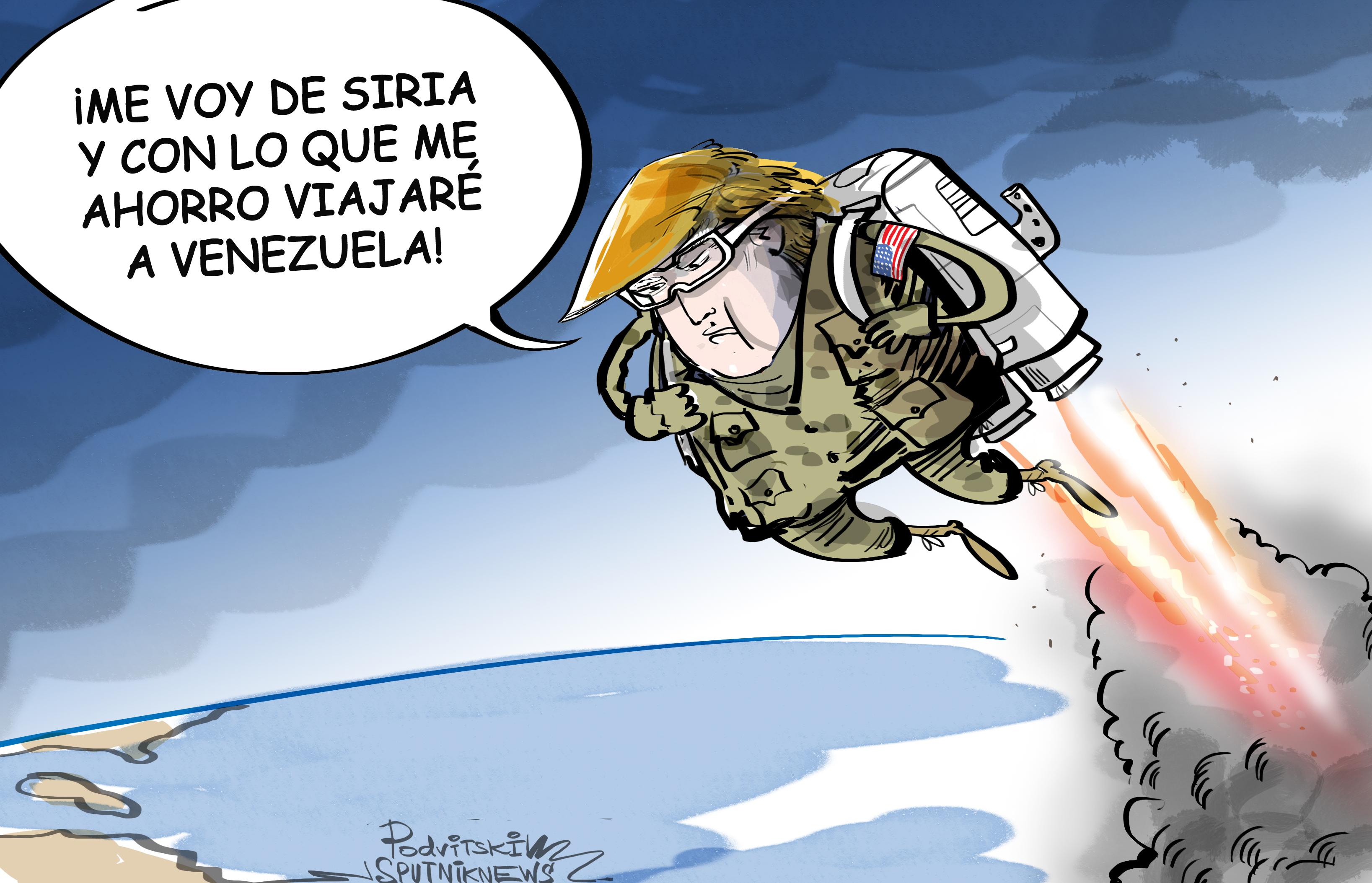 La retirada de Trump de Siria
