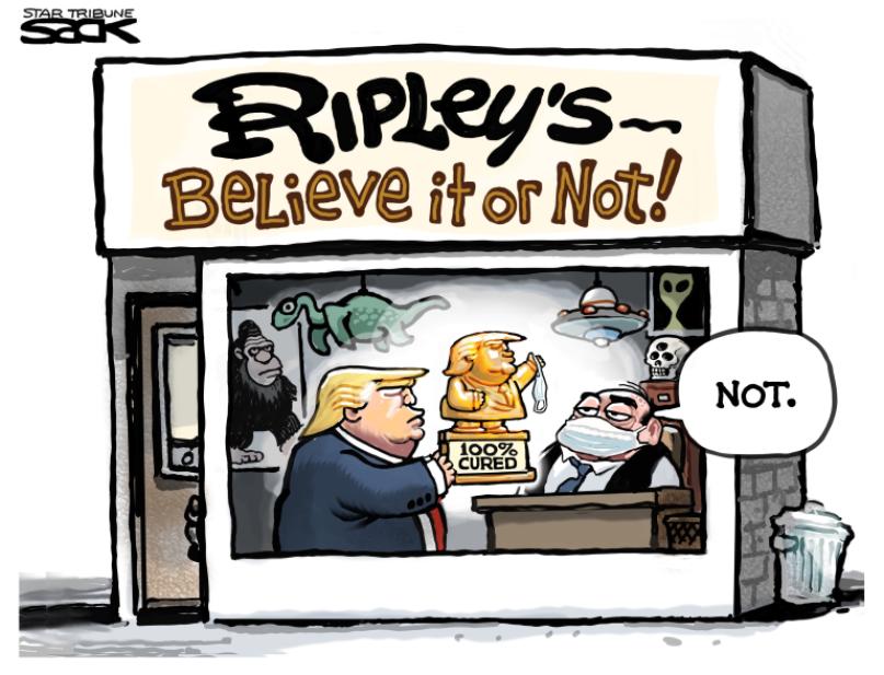Trump y el virus