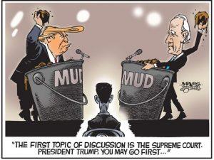 Trump y Biden se arrojan insultos