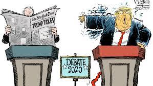 Trump y Biden, Impuestos