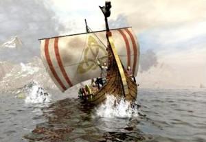 Barco comercial fenicio antiguo