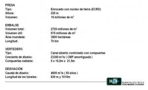 Características de la Represa de Ituango
