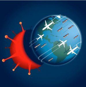 La globalización permite la propagacion del virus