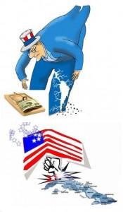 La trampa del dinero norteamericano