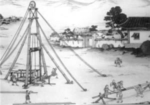 Explotacion primitiva de gas natural