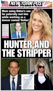 Hunter, la Stripper y la paternidad