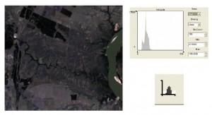 Imagen original del satélite