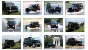 Catálogo fotográfico del Jeep UAZ Hunter