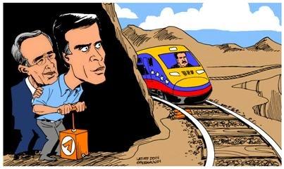 nicolas maduro, tren caricatura