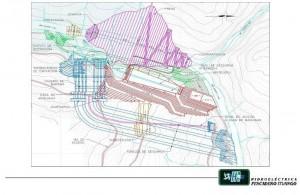 Plano General del proyecto Hidroeléctrica Pescadero Ituango