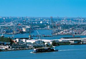 Puerto marítimo especializado