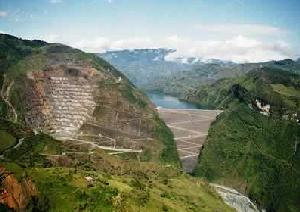 Represa del Guavio Colombia