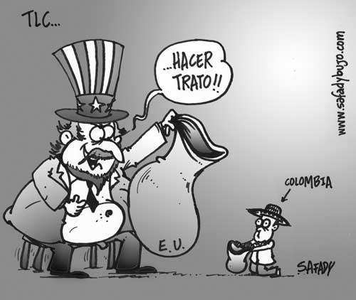 El injusto TLC entre Colombia y USA