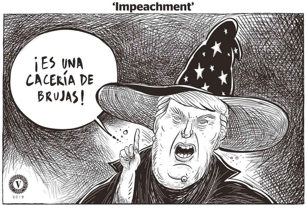 La cacería de Brujas de trump