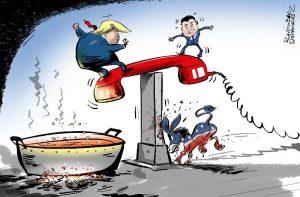Impeachment a Trump por la llamada a a Zelensky