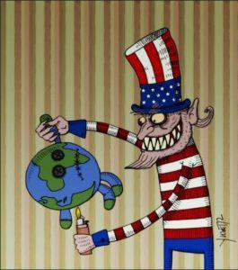 Estados Unidos pretende manejar el mundo a su antjo