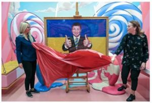 Ucrania con un comediante convertido en Presidente