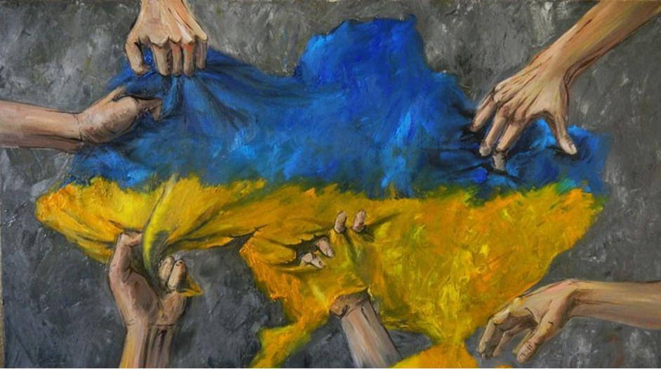 Zelensky Ucrania devastada